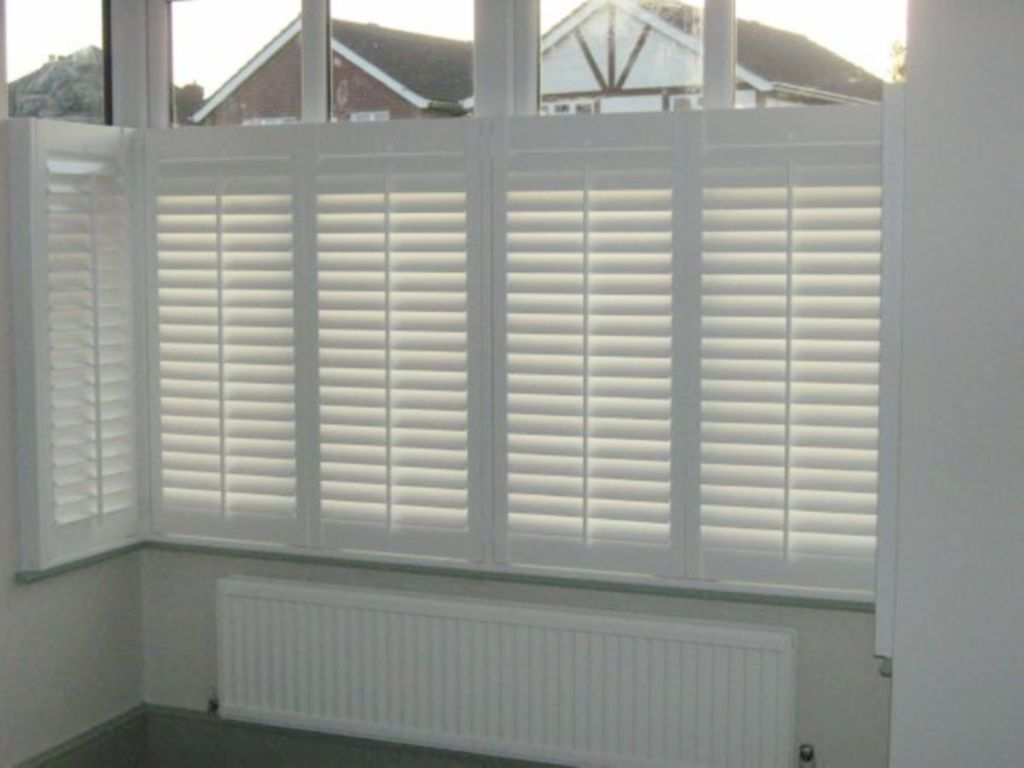 Cafe Style Interior Plantation Shutters For You Home Budgetblindsofbenton Stunning Shutters