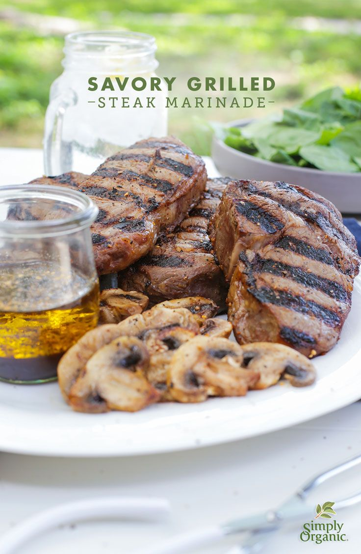 This easy steak marinade unlocks your grilled steak's full flavor potential. Try it out!   via Simply Organic