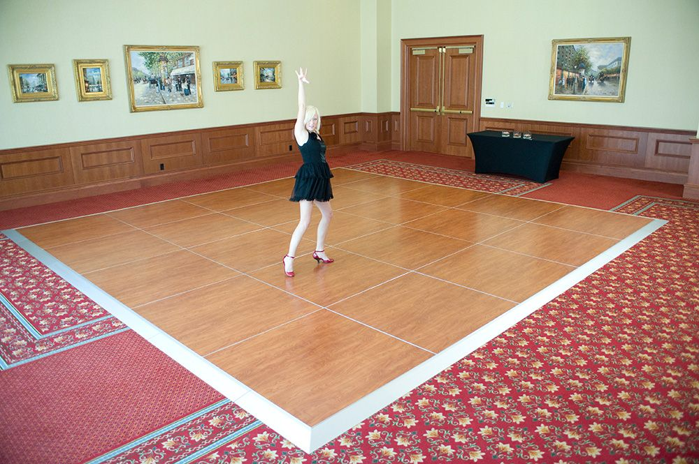 gallery small oak floor and on dance grass event snaplock flooring portable