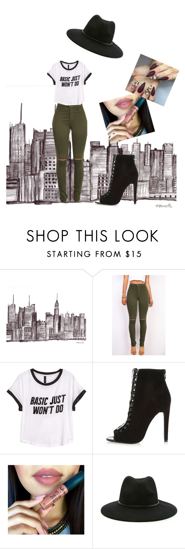 """""""by Kayla"""" by c-farwell ❤ liked on Polyvore featuring H&M, Forever 21, women's clothing, women, female, woman, misses and juniors"""