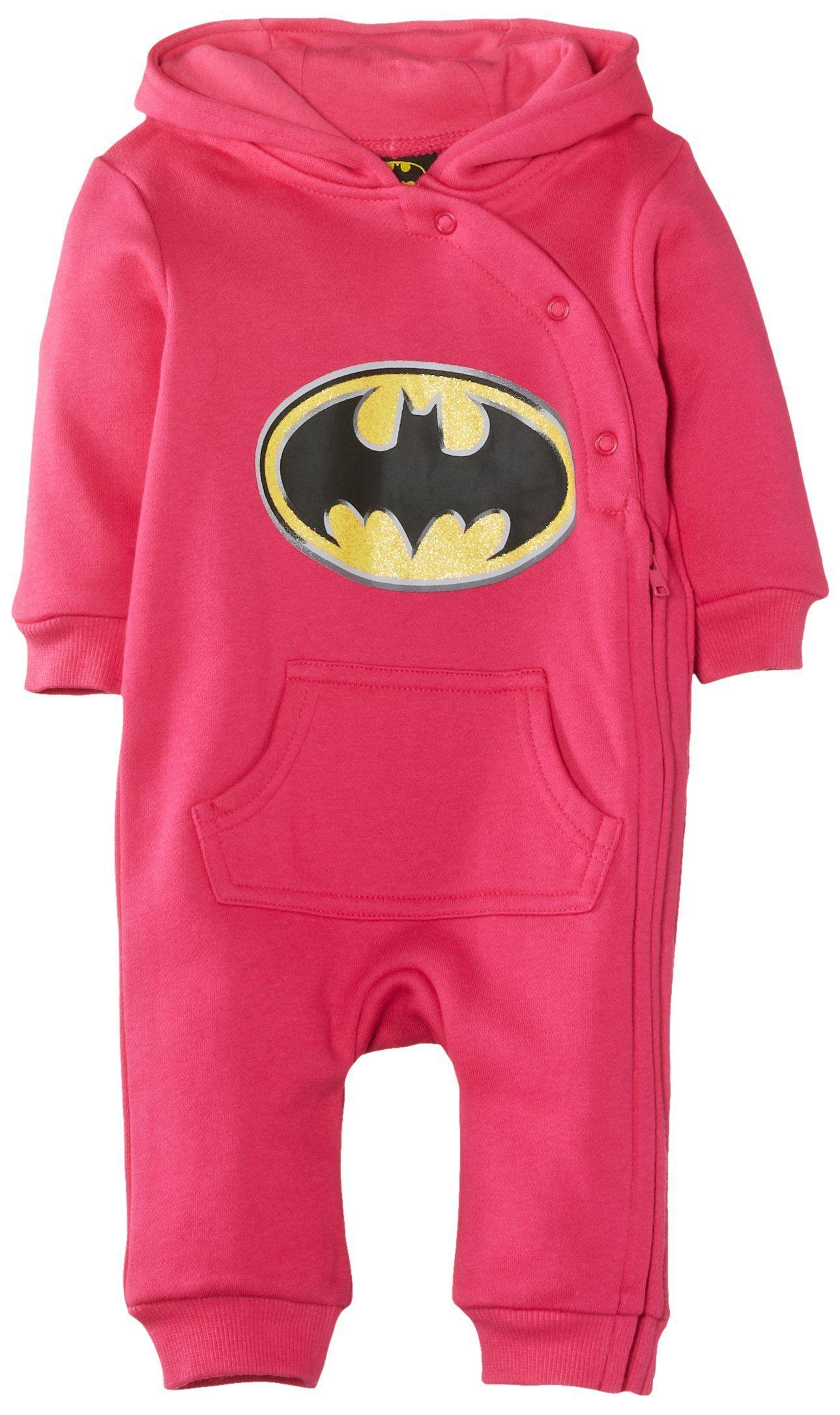 d6b0a2ea3e8c Batman Baby Girl s Onesie Clothing Set  Amazon.co.uk