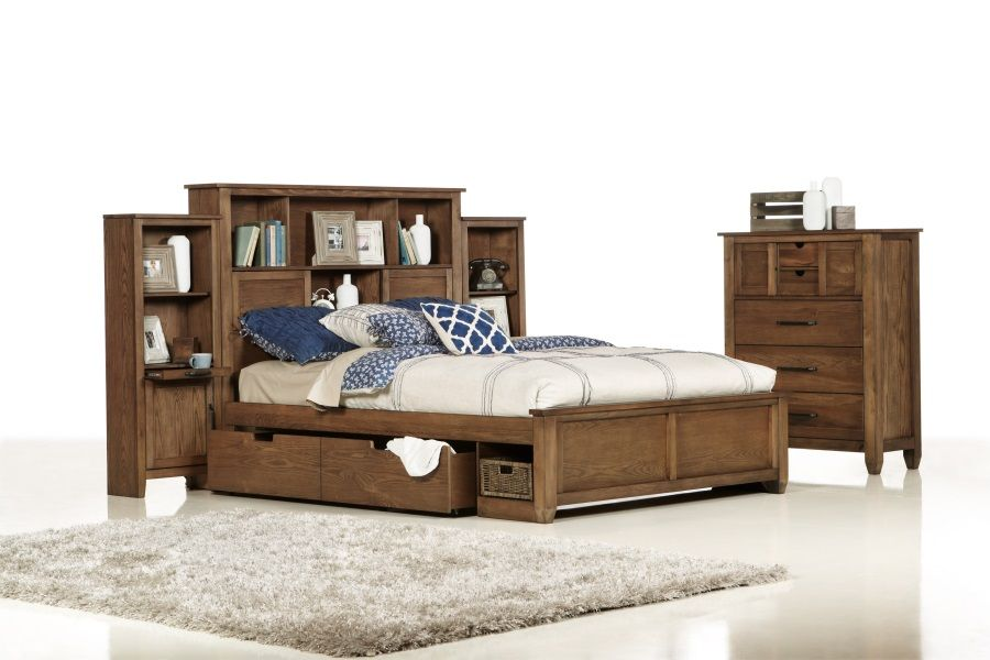 Hampton Queen Size Timber Bed Bedshed No Bedside Tables Where