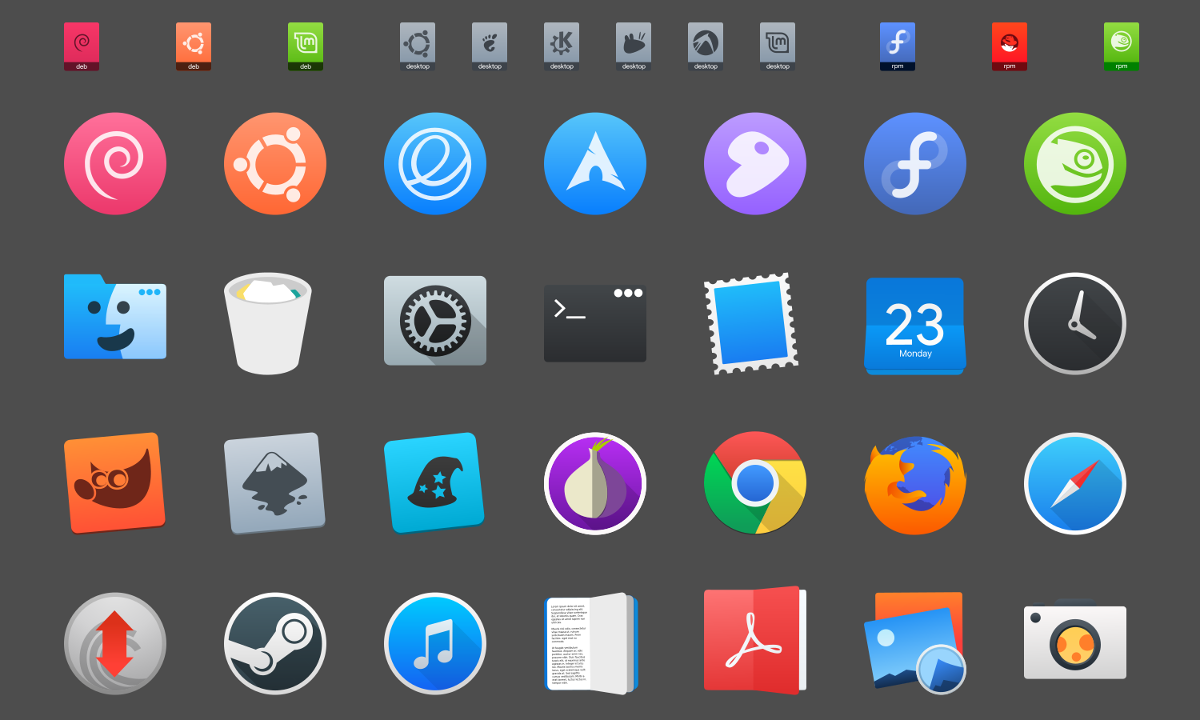 How To Install The Maclike La Capitaine Icon Theme On