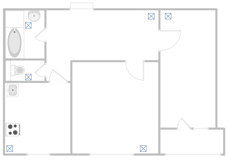 Apartment Hvac Plan