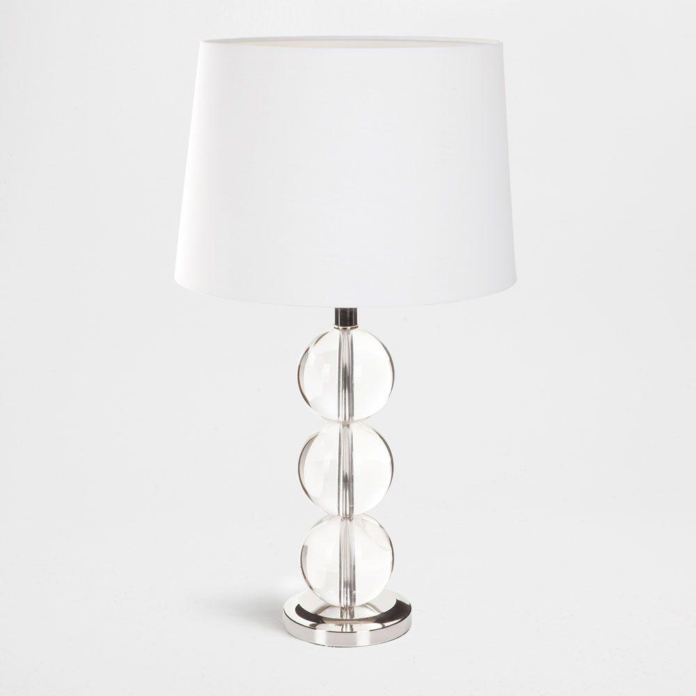 lampe mit drei kristallkugeln living bedroom lamps. Black Bedroom Furniture Sets. Home Design Ideas
