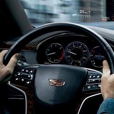 With Head Up Display In The Xts See D With Head Up Display In