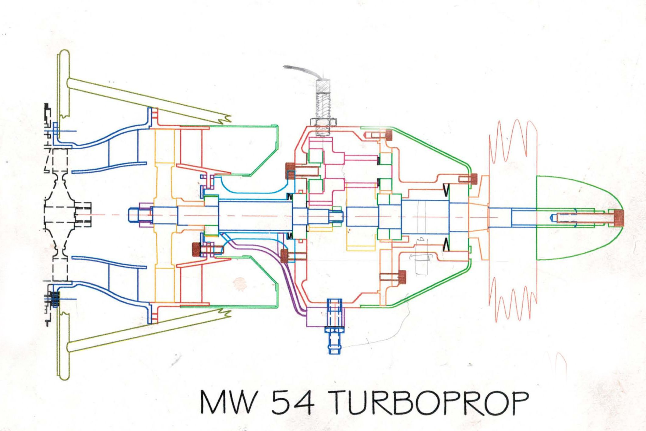 Turboprop Jet Engine Plans free