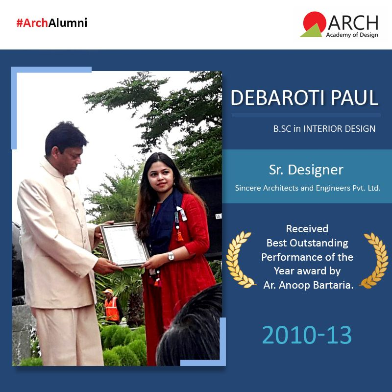 It Is Always A Matter Of Great Pride When One Of Our Own Gains Recognition For Their Work In Design Debaroti Paul From Our College Design Cool Designs Design