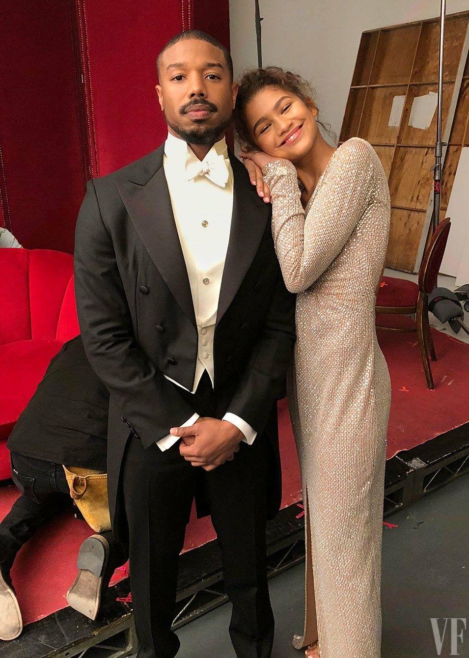 plus récent 074d0 e28af Michael B. Jordan and Zendaya for Vanity Fair | Michael B ...