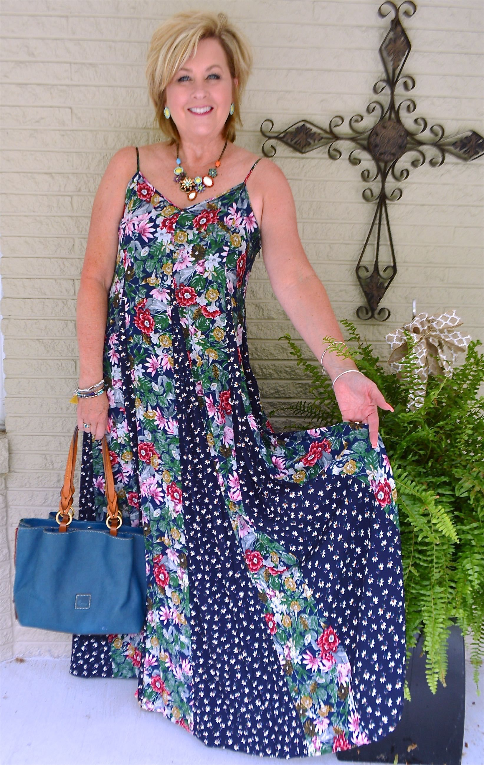 50 IS NOT OLD STYLING A LONG MAXI DRESS Fashion, 50