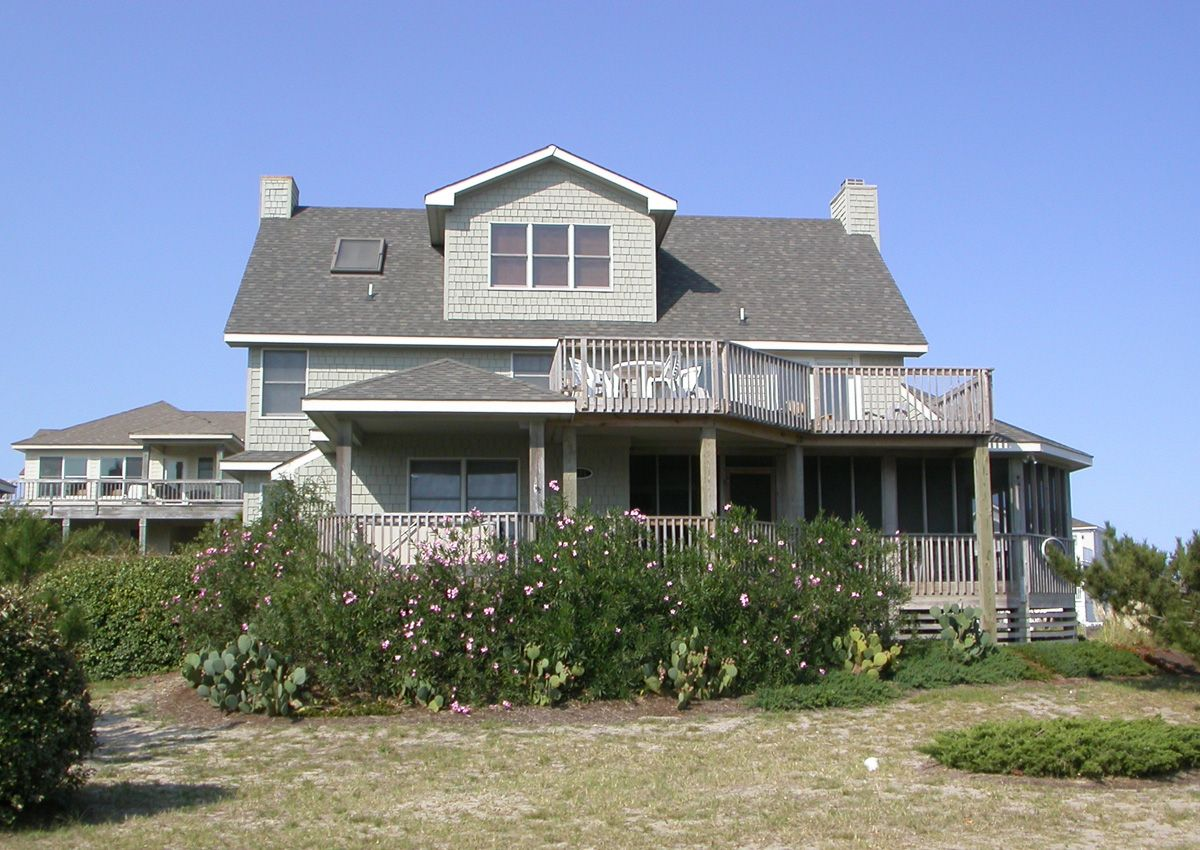 kaha east k226 is an outer banks semi oceanfront vacation rental rh pinterest com