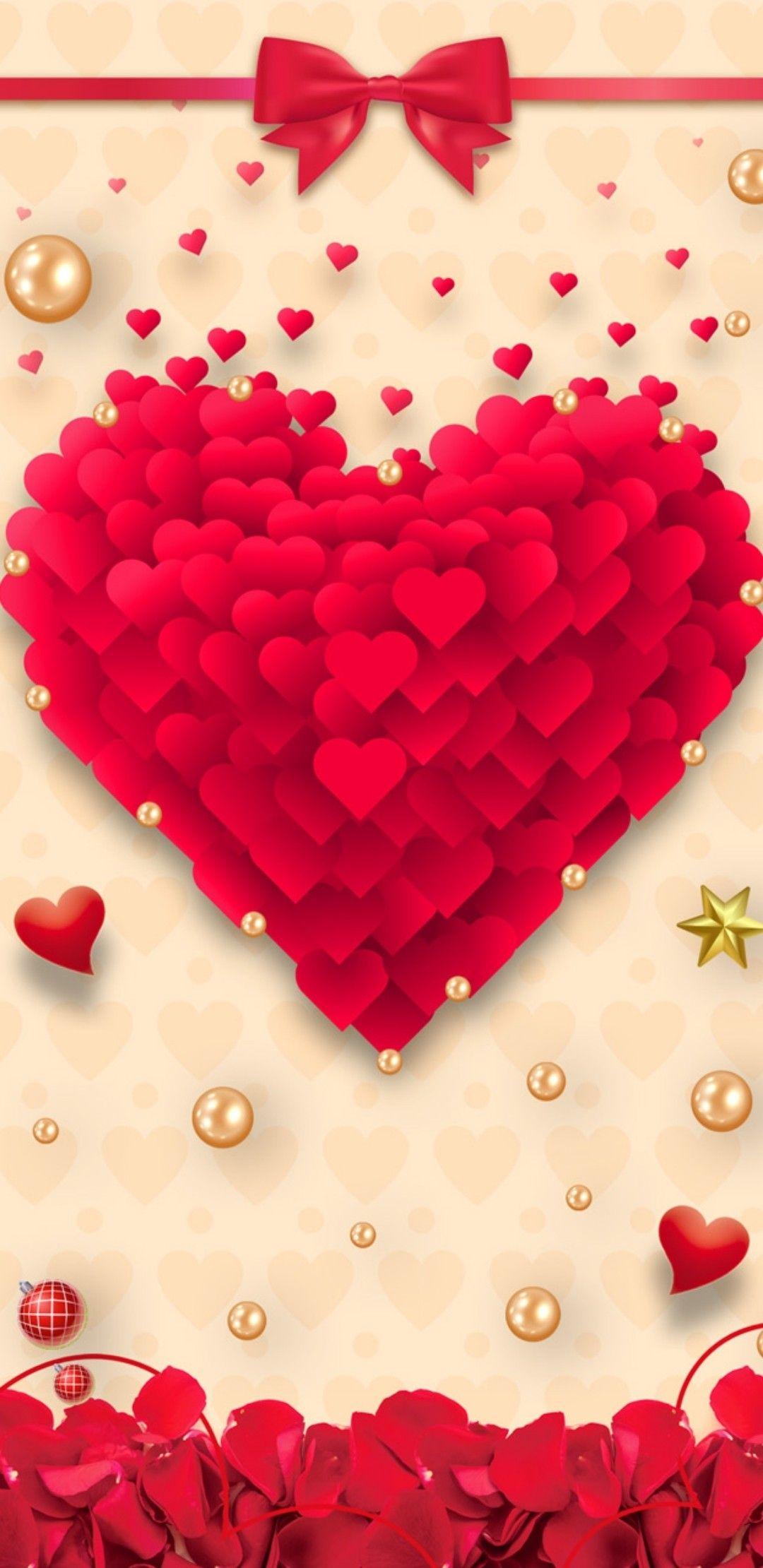 Red Heart Heart Wallpaper Heart Iphone Wallpaper Wallpaper Iphone Love