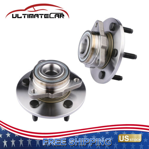 Details About Set 2 Front Wheel Hub Bearings For 2002 2008 Dodge Ram 1500 4wd Rwd 52070321aa Dodge Ram 1500 Chevy Trailblazer Dodge