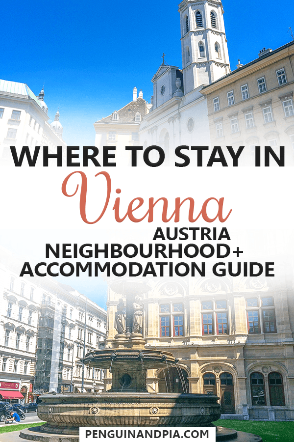 where to stay in vienna your vienna district accommodation guide rh pinterest com
