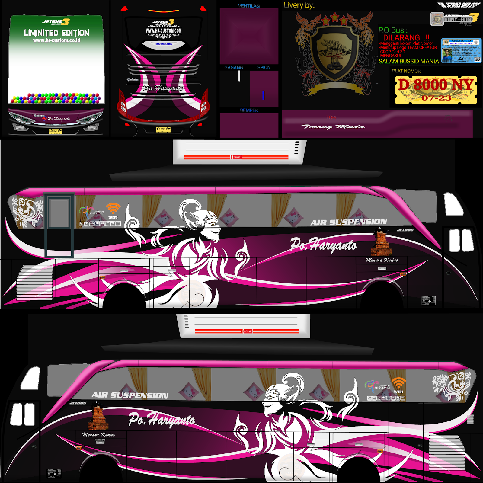 87 Livery Bussid Hd Shd Jernih Koleksi Pilihan Part 2 Raina Id Konsep Mobil Desain Decal Mobil Pertama
