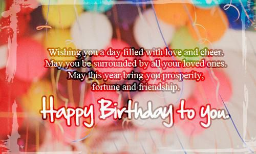 20 Best Ideas touching Birthday Wishes – Home Inspiration