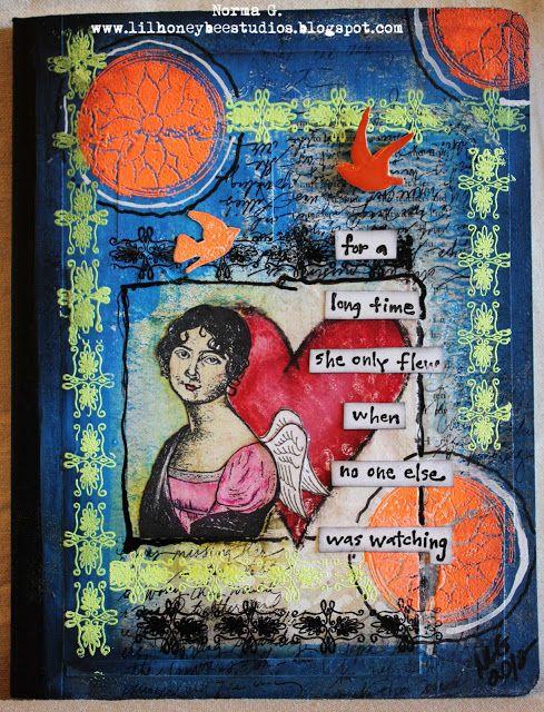 lilhoneybeestudios Art Journals
