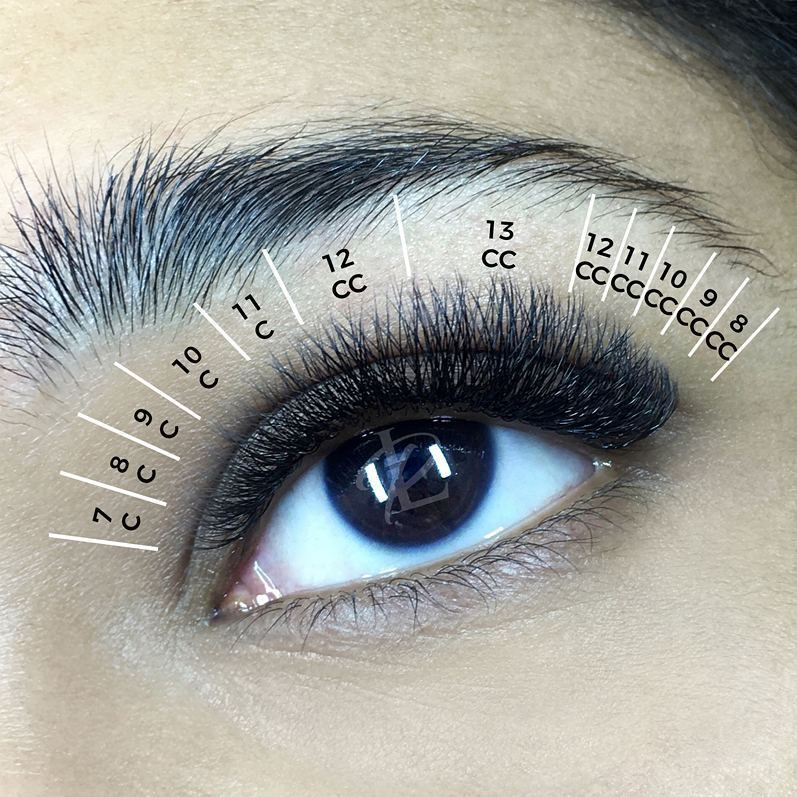 """Good morning, Lashers! Have a look at this beautiful lash mapping we have prepared for you As…"""""""