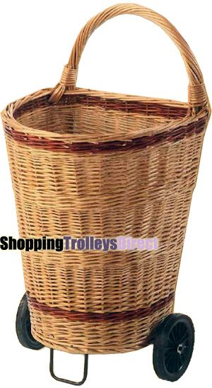Large Luxury Wicker Ping Trolley