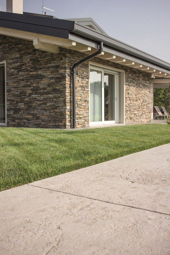 Pavimento stampato effetto naturale posa rapida la for Pavimenti per case moderne