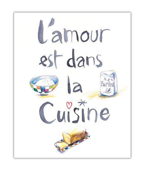 L 39 amour est dans la cuisine citation cuisine - Amour dans la cuisine ...