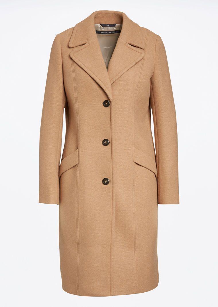 4773ccfbd8 MARC O'POLO, Damen, Bekleidung, Jacken / Mäntel, Mantel, aus Wolle-Mix