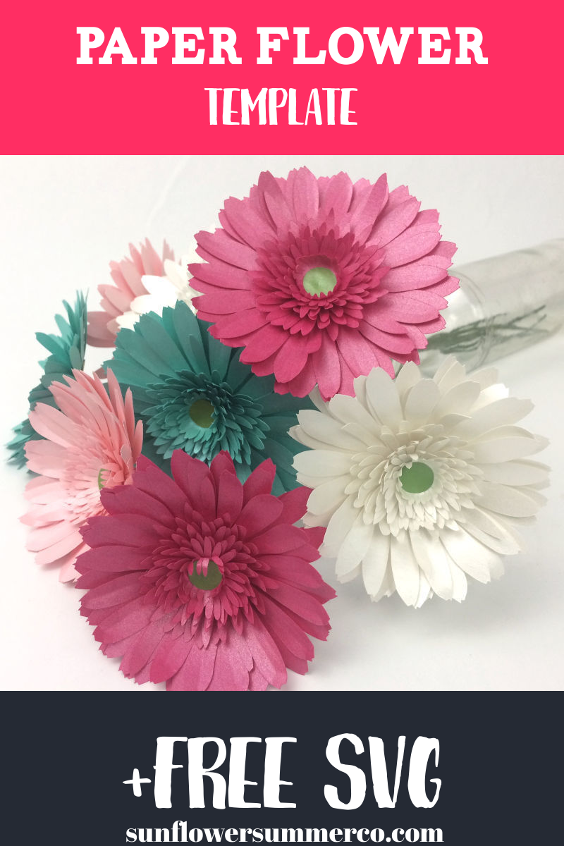 Paper flower tutorials, cricut projects, paper daisies