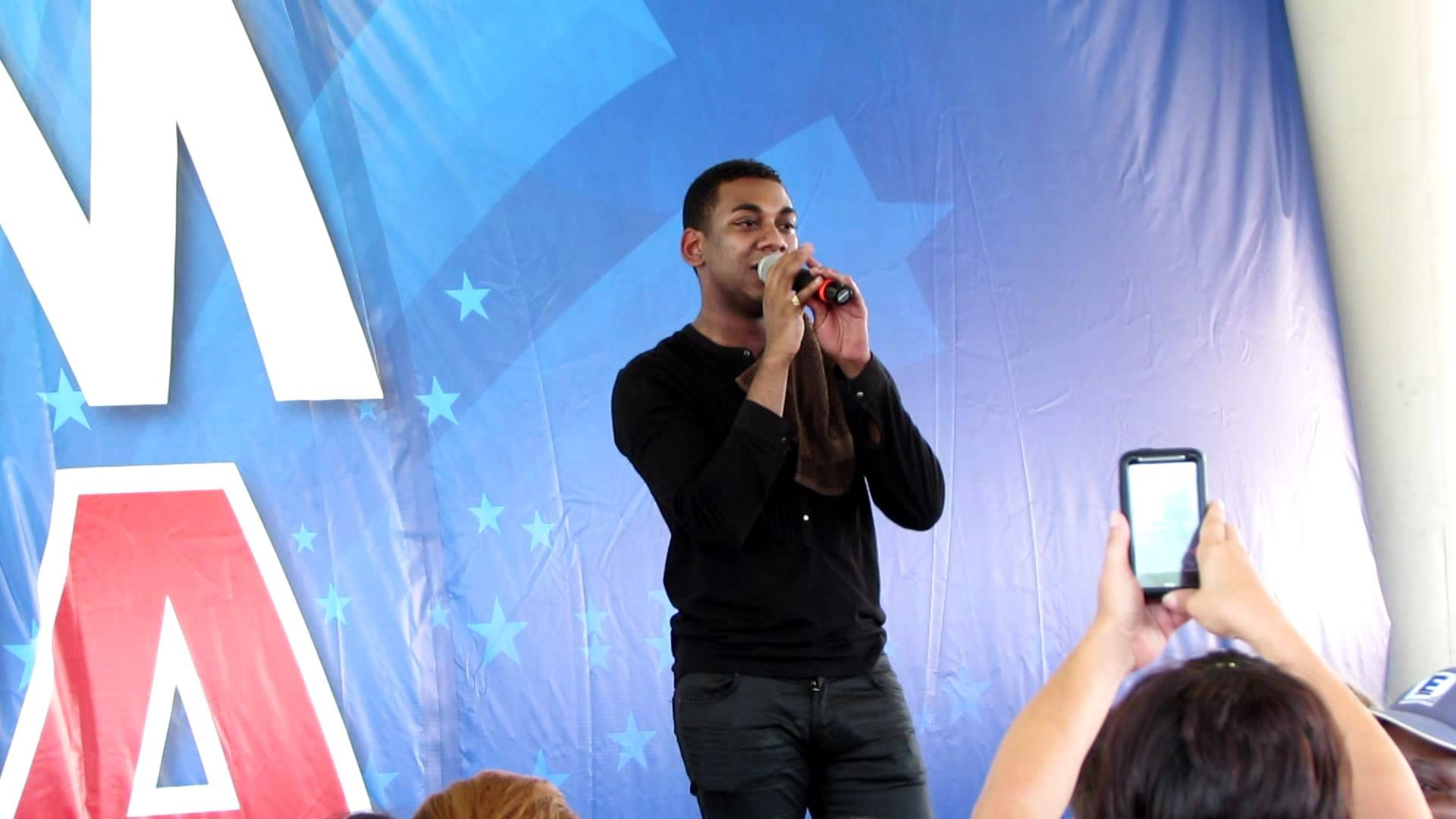 Joshua Ledet-His Eye is on the Sparrow (just voice) hometown