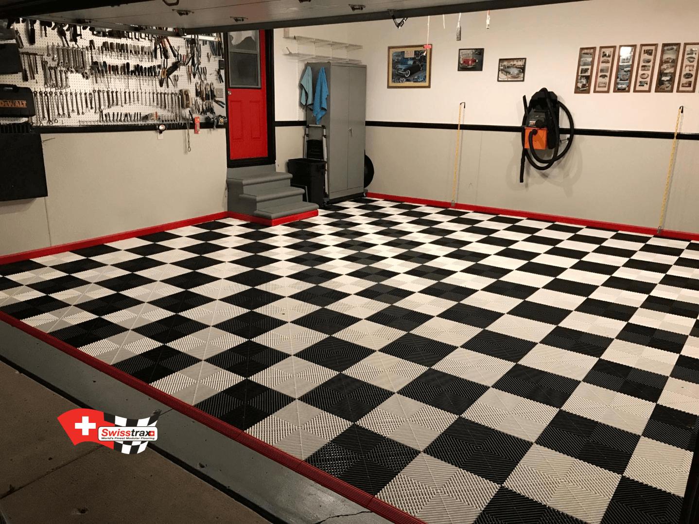 Produit Nettoyage Dalle Terrasse dalles de sol clipsables pour garages-atelier-showrooms
