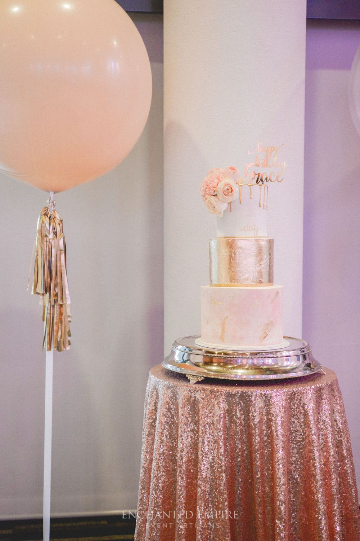 Elegant 60th Birthday Celebration In 2019 Pink Gold