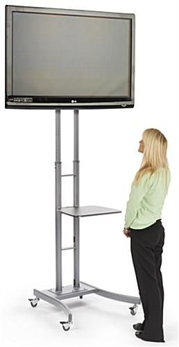 Tall Tv Stand Nass Booth Tvs Lcd Tv Stand Portable Tv Stand