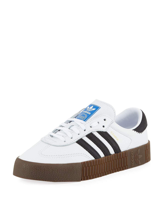 Adidas Samba Rose Platform Sneakers