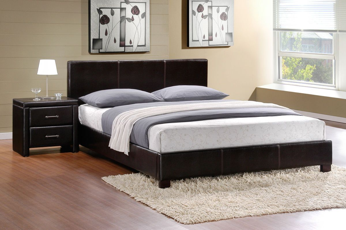 Zoey collection california king platform bed kck beds king