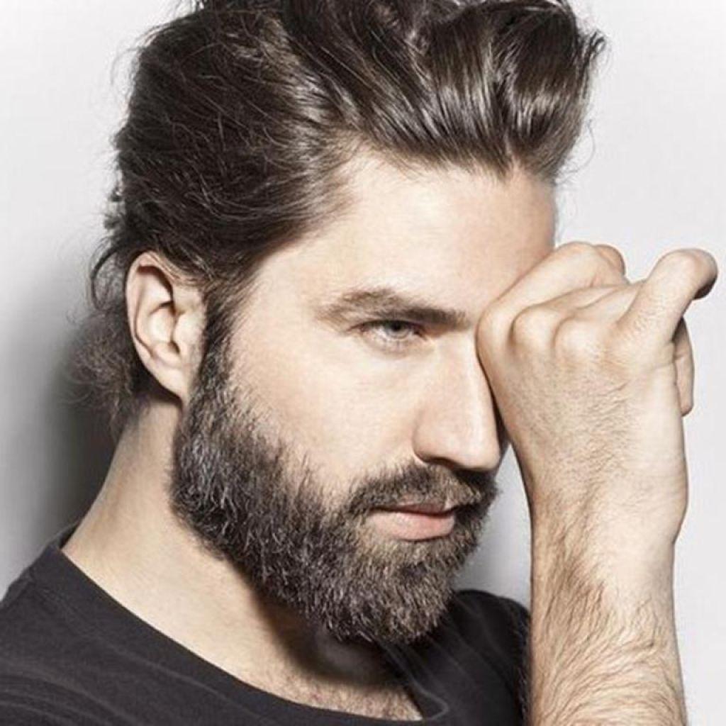 Bart für langes gesicht