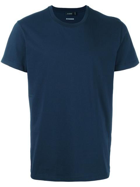 JIL SANDER Classic T-Shirt. #jilsander #cloth #t-shirt