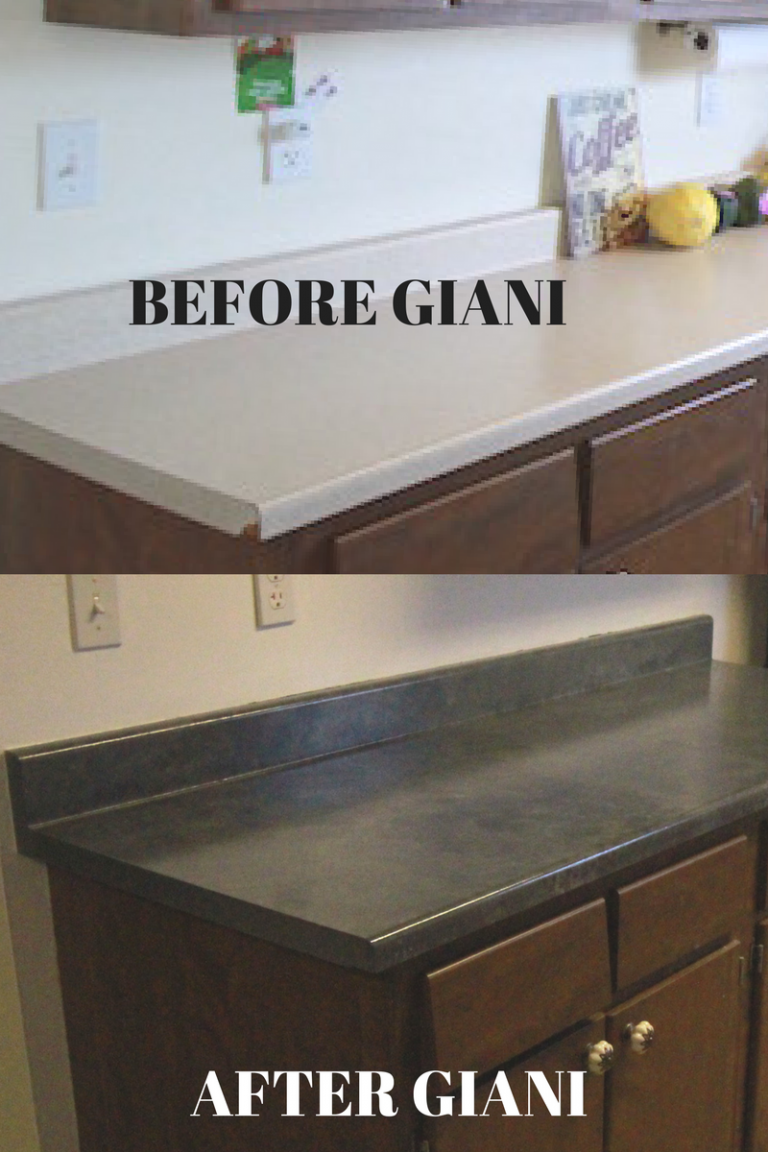 how to paint countertops with giani smallhouseliving rh pinterest com