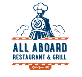 All Aboard Restaurant Grill Little Rock Ar You Food Is Delivered By Model Train
