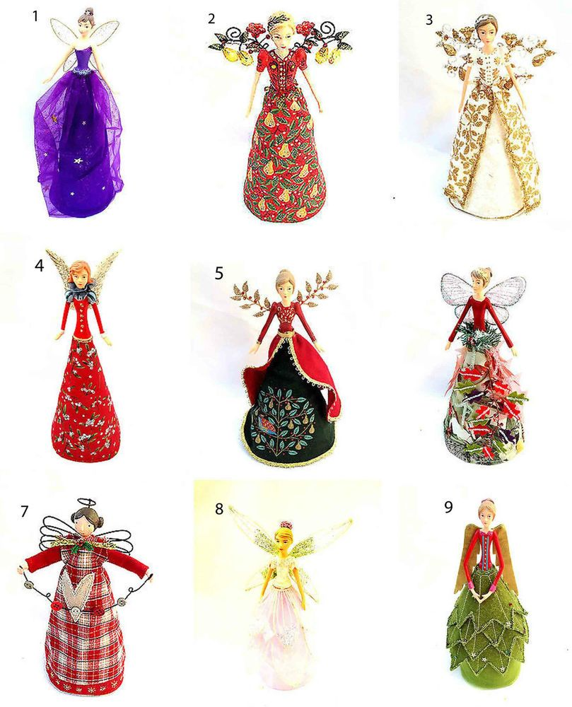 Gisela Graham Christmas Tree Topper: New Gisela Graham Fairy Angel Christmas Tree Topper