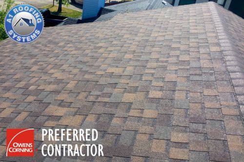 Best Roofing Contractor Owens Corning Tru Definition Duration Teak Asphalt Shingles 400 x 300
