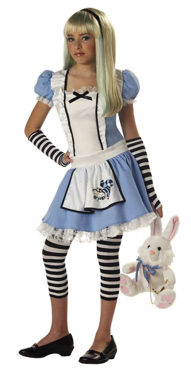 Alice In Wonderland costume For Megan  sc 1 st  Pinterest & 12 DIY Costumes That Are Better Than Store-Bought Ones | Pinterest ...