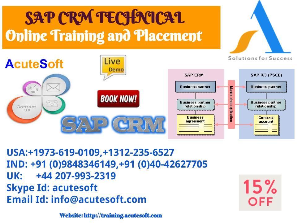 Pin de Srinivas Acutesoft en SAP CRM Technical Online Training - business partner contract