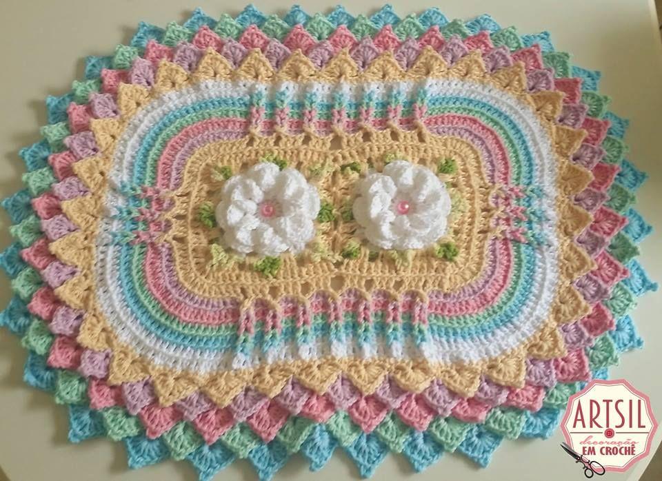 Pin Von Luz Jeannette Correal Callejas Auf Crochet Pinterest
