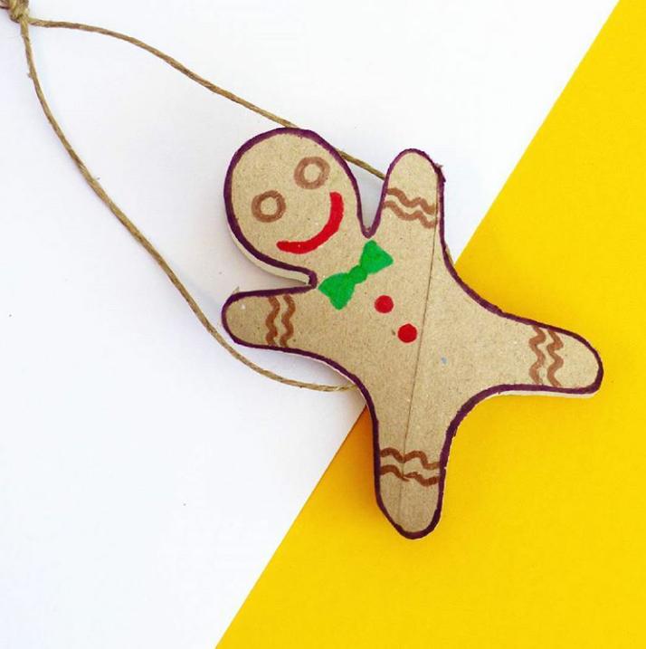 Xmas Craft 25 🎁 We saved our sweet Gingerguy for Xmas day