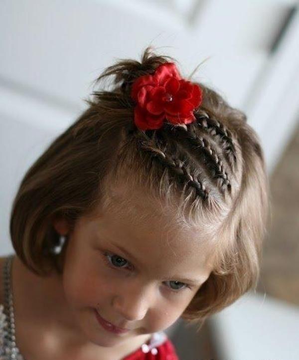 24 kreative mädchen frisuren - hair styling der kleine