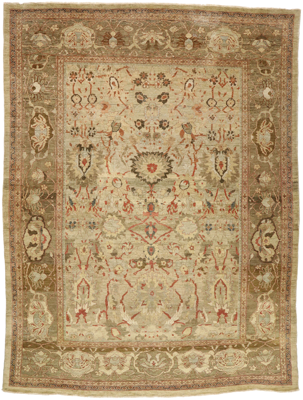 13 X 17 Vintage Persian Sultanabad Palace Rug 77507 In 2020 Vintage Persian Rug Rugs Sultanabad Rug