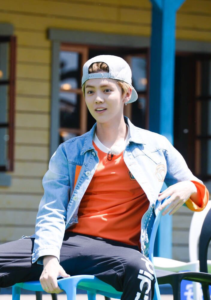 "鹿晗 Luhan on ""Keep Running"""