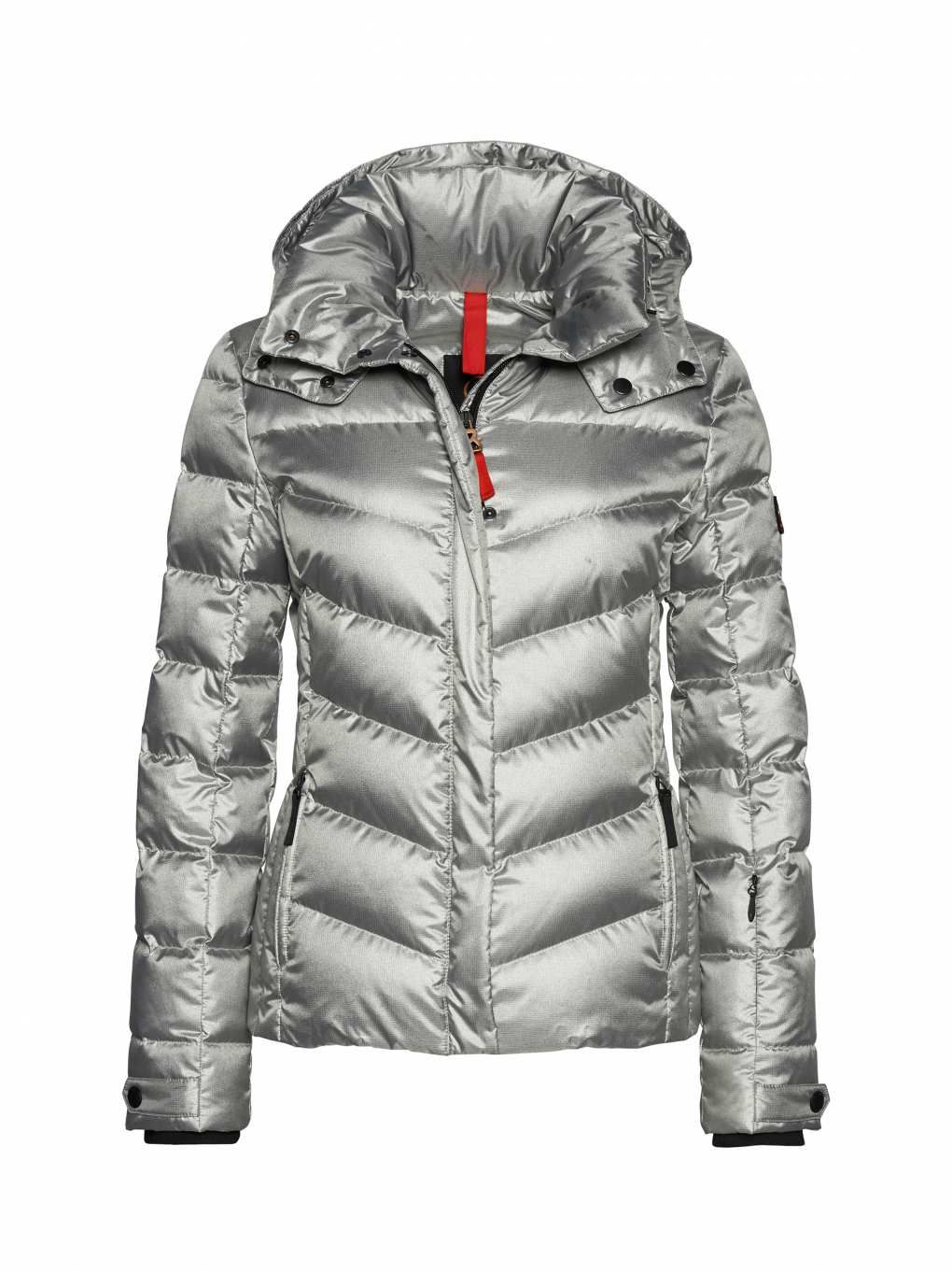 8b719fc728 SKI DOWN JACKET SALLY in Silver for Women