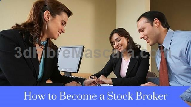 How to Become a Stock Broker Financial Stock Brokers Pinterest - stock broker job description