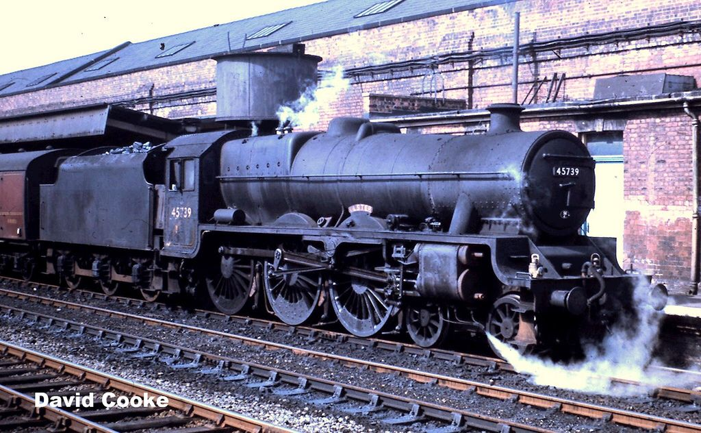 S2247 Lms Jubilee Class 4 6 0 No 45739 Normanton Steam Engine