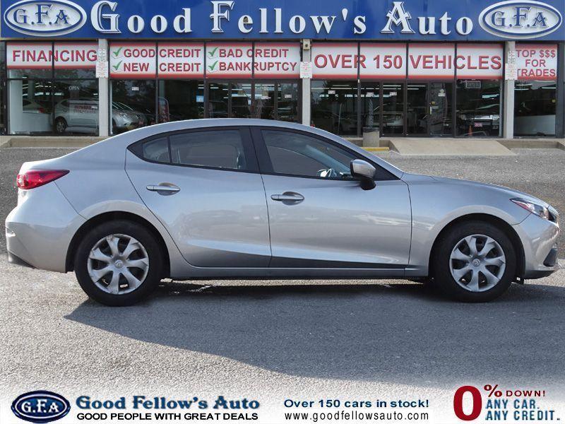 Used Mazda3 in Toronto, Silver! Mazda 3, Sport seats